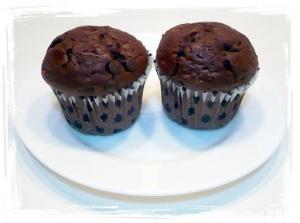 briose cu ciocolata (9)
